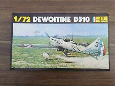 DEWOITINE D510 1/72 SCALE HELLER  MODEL KIT