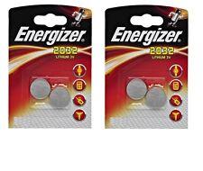 ENVOI AVEC SUIVI Lot de 4 piles ENERGIZER CR2032 3 volt
