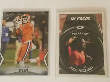 2 Deon Cain 2018 Rookie Cards