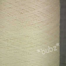 LOVELY FINE 2/44 SILK LINEN COBWEB YARN 250g CONE LACEWEIGHT ECRU UNDYED WEAVING