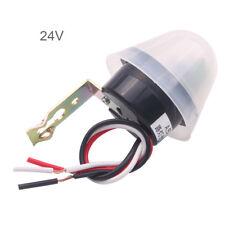 Photosensitive Adjustable Street Light Lamp Photoswitch Sensor Control 24V 10A