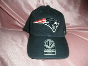 New England Patriots '47 Brand Fitted Hat/ Cap Men's Size Large, NWT'S