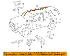 TOYOTA OEM 14-15 4Runner Airbag Air Bag SRS-Inflator Curtain 6217035070
