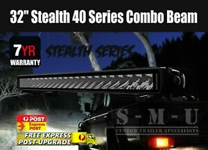 """LED Light Bar 32"""" Stealth 40 Series Combo Beam 10-30V 33 x 3W Osram LEDs"""
