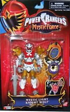 "Power Rangers Mystic Force Light Knight Wolf New 5"" Ranger Factory Sealed 2006"