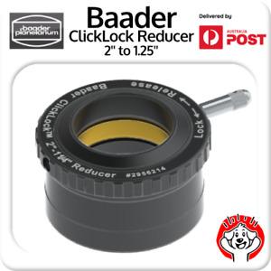 "Baader 2"" to 1¼"" ClickLock Reducer (T-2 part #15B) # 2956214 Eyepiece Adaptor"