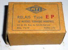 Relais EP 3RT MTI Bob 110 volts DC - rechange militaire neuve pour AAL6