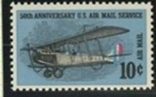 US 1968 50th ANNIVERSARY OF US AIR MAIL COMMEMORATIVE STAMP MNH