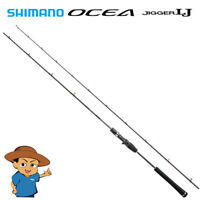 "Shimano OCEA JIGGER LJ B63-1 6'3"" light jigging baitcasting rod 2018 model"