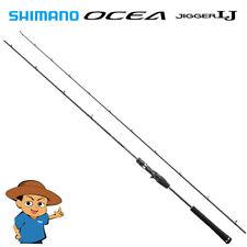 "Shimano OCEA JIGGER LJ B63-2 6'3"" light jigging baitcasting rod 2018 model"