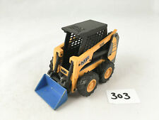 JOAL SPAIN #192 MF 516 INDUSTRIAL SCAT LOADER BOBCAT YELLOW/BLUE DIECAST TOY