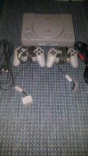 Playstation 1 / PS1   Konsole Grau - inkl. Kabel,  2x Sony Controller