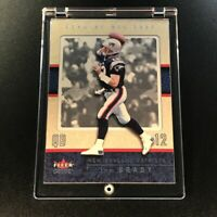 TOM BRADY 2002 FLEER GENUINE #43 EARLY BRADY CARD NEW ENGLAND PATRIOTS NFL