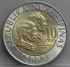 Philippines Filipijnen 10 Piso 2003 - KM# 278