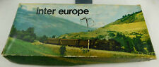Spares/repair: vintage Lima Inter-Europe Frieght Train Set, tatty box