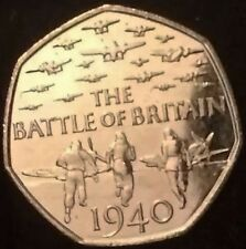 50p COIN ~ 2015 ~ 75th Anniversary of the Battle of Britain~ CIRCULATED