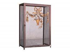 cache radiateur 1900 décor bronze doré
