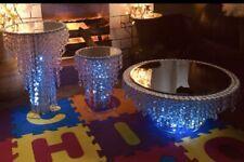 crystal wedding cake chandelier