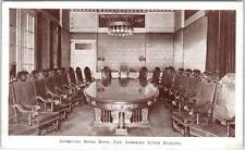 WASHINGTON, D.C.   Governing Board Room  PAN AMERICAN UNION  1937  Postcard