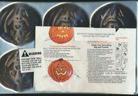 Vintage 1983 Wilton Mini Halloween Pumpkin Jack-o-lantern Face Cake Muffin Pan