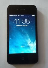 Apple iPhone 4  Smartphone  Verizon Network   Model A1349 EML