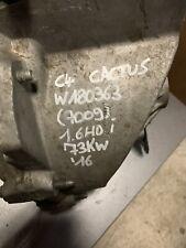 Boite De Vitesse Automatique Robotisée Citroen C4 Cactus 1,6L Diesel 2016