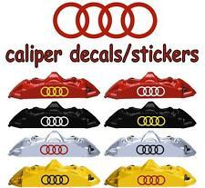 8 X Audi Rings Brake Caliper Decal Sticker Graphics Vinyl Emblem Logo I