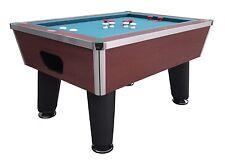 BUMPER POOL TABLE in CHERRY~SLATE~PROFESSIONAL~COMMERCIAL GRADE~BERNER BILLIARDS