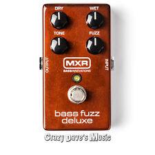 Dunlop MXR Bass Fuzz Deluxe M84 Effects Pedal