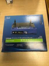 Linksys WRT54GL 54 Mbps 4-Port 100 Mbps Funk Router (WRT54GL-DE)