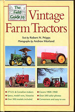 The Field Guide to Vintage Farm Tractors-HC-Illustrated-1900 to1960 Models