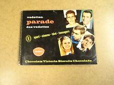CHOCOLATS VICTORIA BISCUITS / VEDETTEN PARADE SPORT CINEMA TV TEENAGERS...