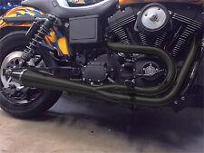 SAWICKI 2016 Harley-Davidson FXDLS Dyna Low rider S 2IN1 DYNA PIPE BLACK 930-010