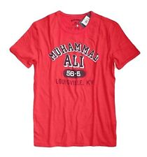 Lucky Brand - Mens S - NWT - Red Muhammad Ali Louisville KY Cotton T-Shirt