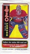 (250) 2018-19 18-19 OPC O-PEE-CHEE HOCKEY WRAPPERS LOT FOR RED PACKS