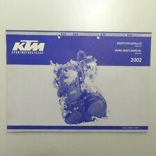 KTM Motor 640 LC4 Supermoto Adventure Duke 2 Ersatzteilkatalog part list Engine