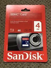 SanDisk 4GB SD Card Class 2
