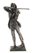 Veronese Bronze Figurine Musician Paganini Violin Statue Gift Home Decor
