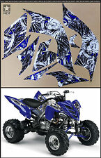 GRAPHICS KIT YAMAHA RAPTOR 700 R700 ATV QUAD DECALS FENDERS INCLUDED ALL MODELS