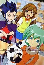 Inazuma Eleven go chrono stone / Card Fight Vanguard poster promo anime official
