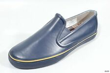 new SPERRY Top-Sider mens navy rubber slip-on loafers waterproof boat shoes 7