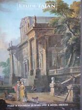 Catalogue de vente Tajan TABLEAU ANCIEN Old master painting Peinture ancienne