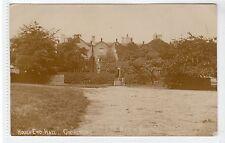 HOUGH END HALL, CHORLTON: Lancashire postcard (C22087)
