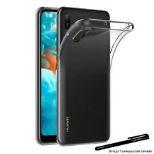 Coque silicone gel transparente ultra mince pour Huawei Y6 2019