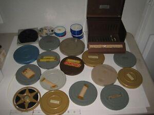 Vintage Lot 20 8mm Home Movie Reels 70's Disneyland Palm Springs