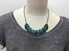 Ladies NWT colored stone beautiful necklace