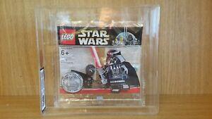 GRADED LEGO STAR WARS CHROME DARTH VADER - RARE LIMITED EDITION - 4547551