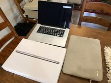 Apple MacBook Pro 15.4 with Retina Display Mid 2015 i7 512gb 16gb APPLECARE