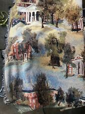 College Buildings Woven Tapestry Throw Blanket by Cbee's. Size 53�x71�