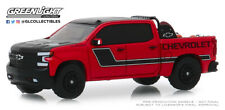 GreenLight 1:64 2019 Chevrolet Silverado in Red with Safety Equipment 30087